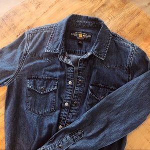 Lucky Brand Jean button up